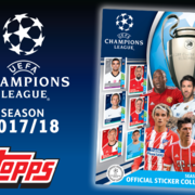 2017-18 Topps UEFA Champions League Sticker Collection