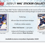 2020-21 Topps NHL Sticker Collection