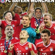 2013-14 Panini FC Bayern Munchen Stickers Collection