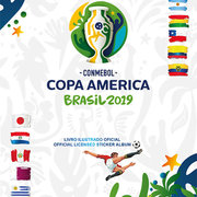 2019 Panini Copa America Brasil Sticker Collection