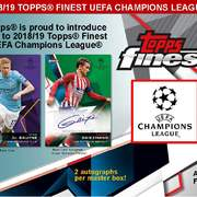 2018-19 Topps Finest UEFA Champions League Soccer