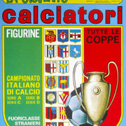1970-71 Panini Calciatori Sticker Collection