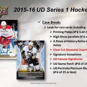 2015-16 Upper Deck Series 1 Hockey