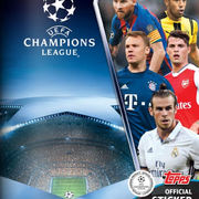 2016-17 Topps UEFA Champions League Sticker Collection
