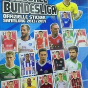 2013-14 Topps Bundesliga Sticker Collection