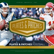 2018 Panini Plates and Patches Football