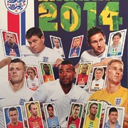 2014 Topps England Sticker Collection