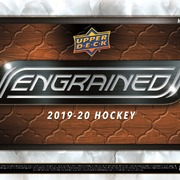 2019-20 Upper Deck Engrained Hockey