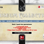 2018-19 Topps Museum Collection Bundesliga Soccer
