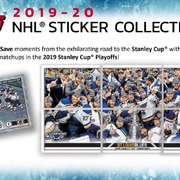 2019-20 Topps NHL Sticker Collection