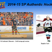 2014-15 Upper Deck SP Authentic Hockey
