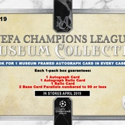 2018-19 Topps Museum Collection Champions League Soccer