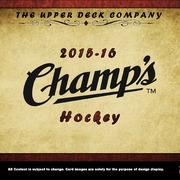 2015-16 Upper Deck Champs Hockey