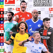2018-19 Topps Bundesliga Sticker Collection