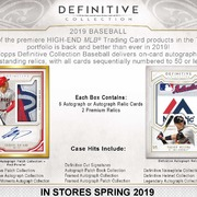 2019 Topps Definitive Collection Baseball
