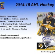 2014-15 Upper Deck AHL Hockey