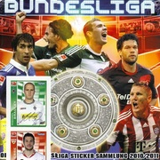 2010-11 Topps Bundesliga Sticker Collection