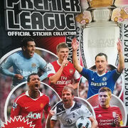 2010-11 Topps Premier League Sticker Collection