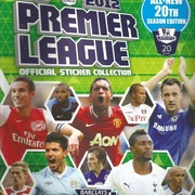 2011-12 Topps Premier League Sticker Collection