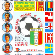 1971-72 Panini Calciatori Sticker Collection