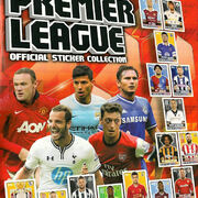 2013-14 Topps Premier League Sticker Collection