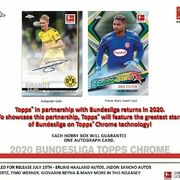 2019-20 Topps Chrome Bundesliga Soccer