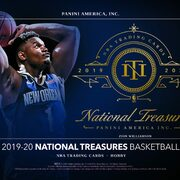 2019-20 Panini National Treasures Basketball