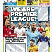 2019 Panini Tabloid Premier League Sticker Collection