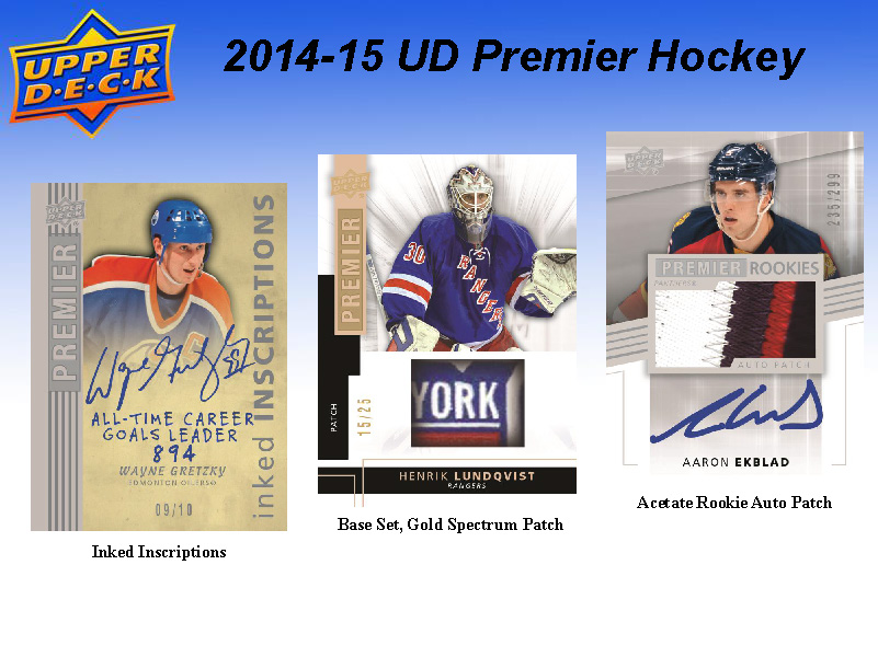 2014-15 Upper Deck Premier Hockey Checklist