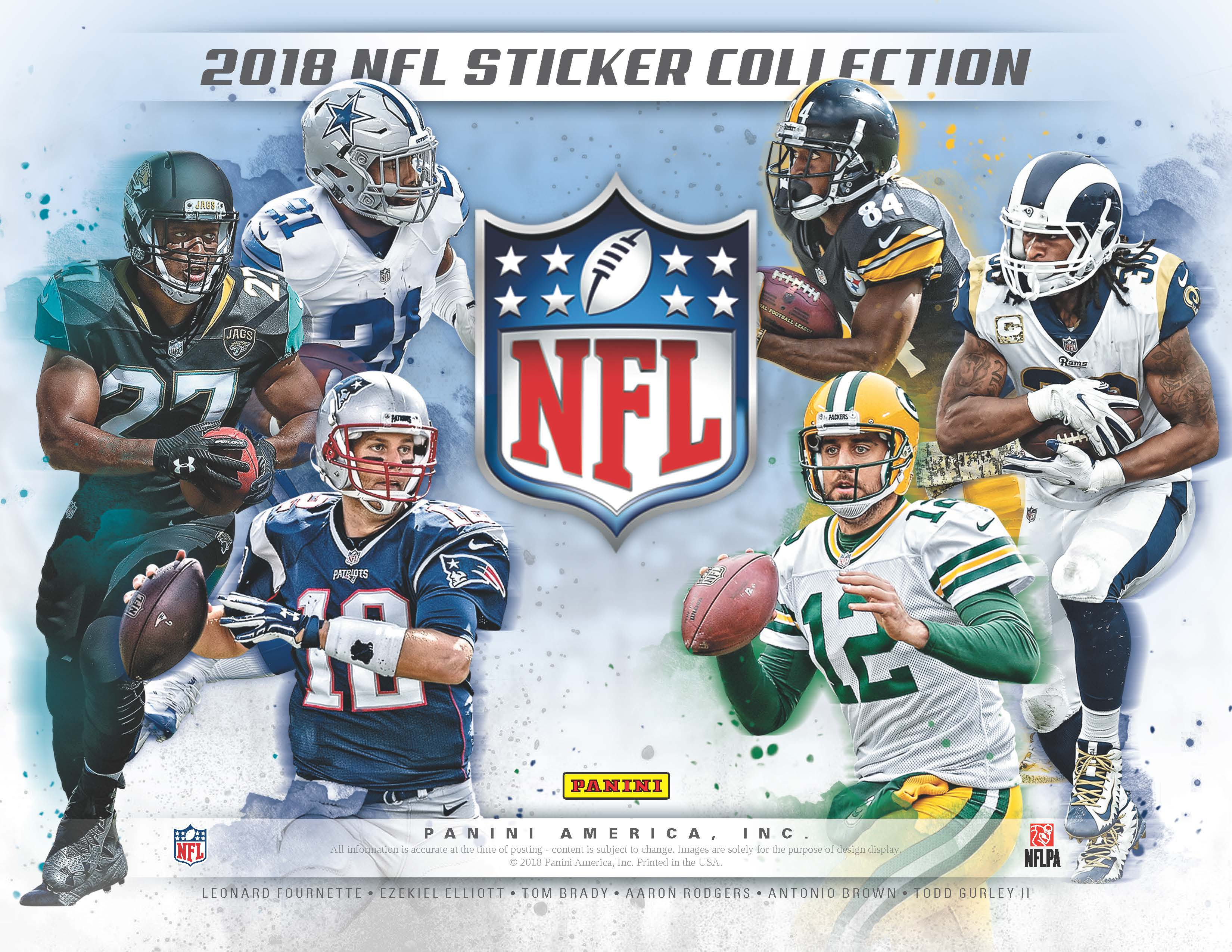 173ffa8fb089f Collections 2018 Panini NFL Stickers Collection Football