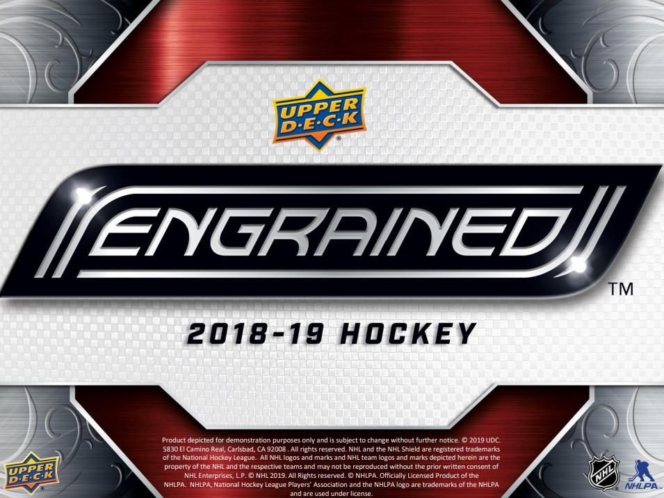 2018-19 Upper Deck Engrained Hockey  Checklist