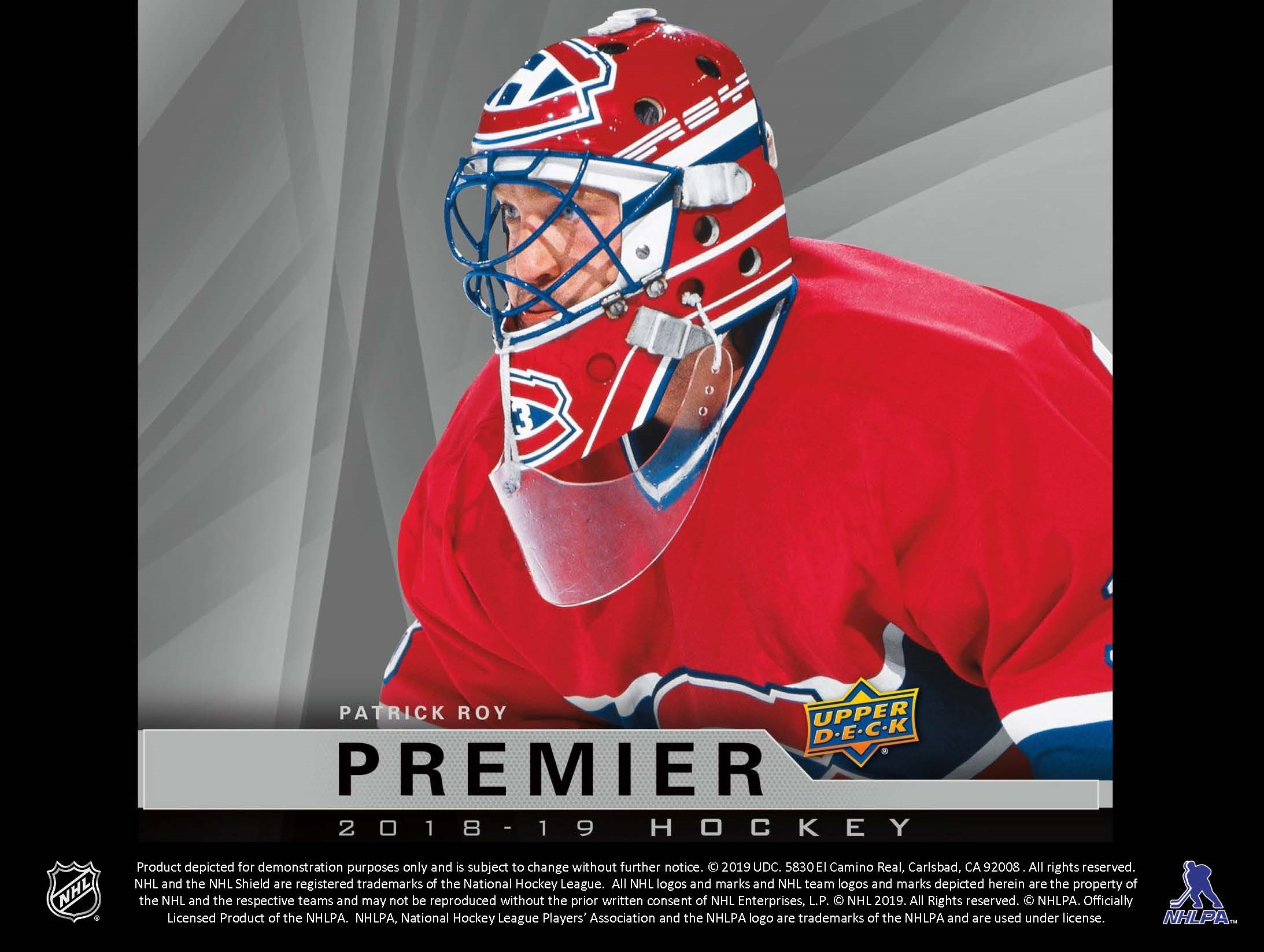 2018-19 Upper Deck Premier Hockey Checklist