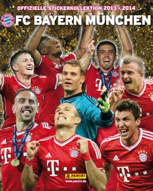 2013-14 Panini FC Bayern Munchen Stickers Collection Checklist