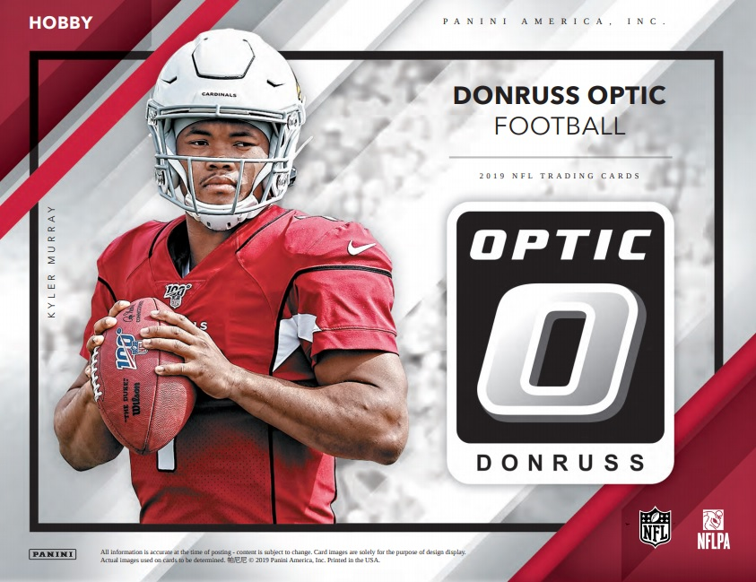 2019 Panini Donruss Optic Football Checklist