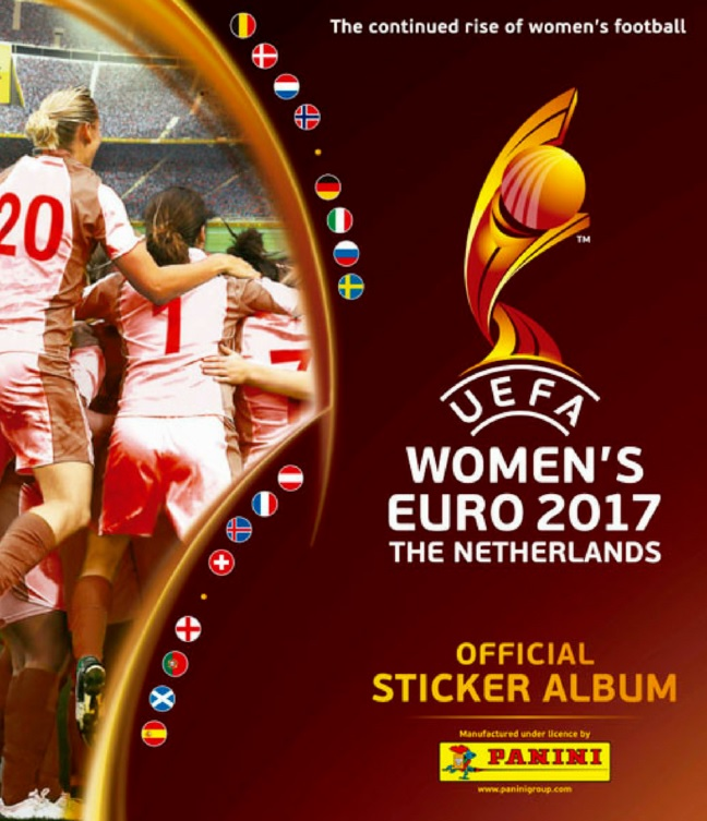 2017 Panini UEFA Euro Cup Womens Sticker Collection Checklist