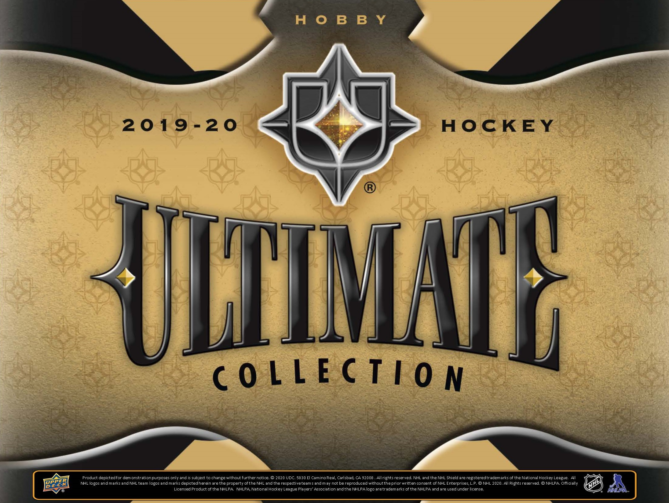 2019-20 Ultimate Collection Hockey Checklist