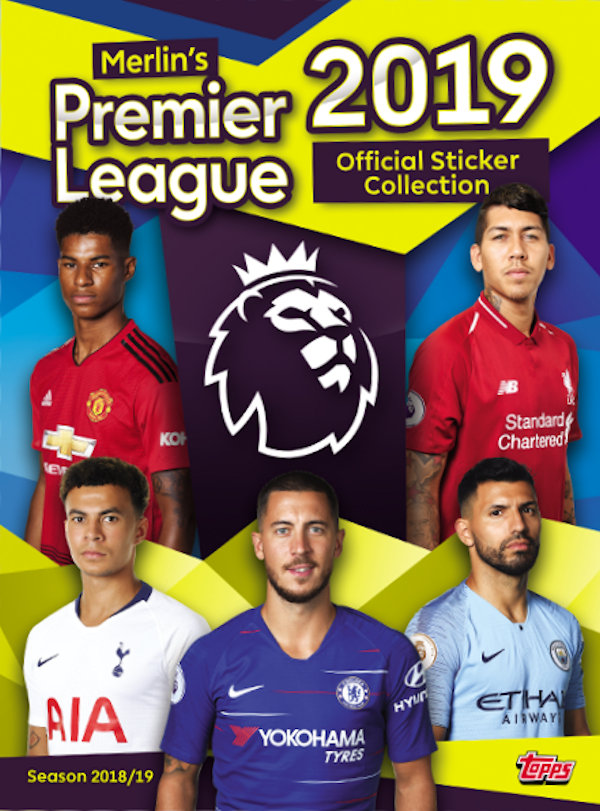 2018-19 Topps Premier League Sticker Collection Checklist