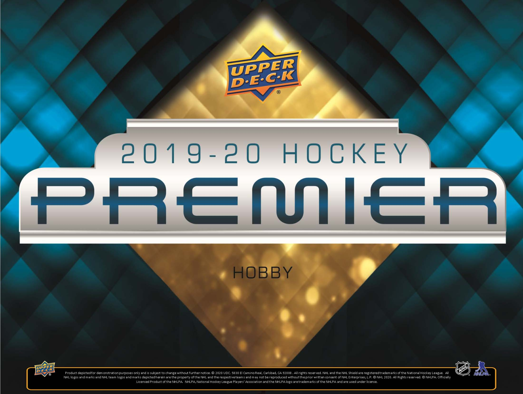 2019-20 Upper Deck Premier Hockey Checklist