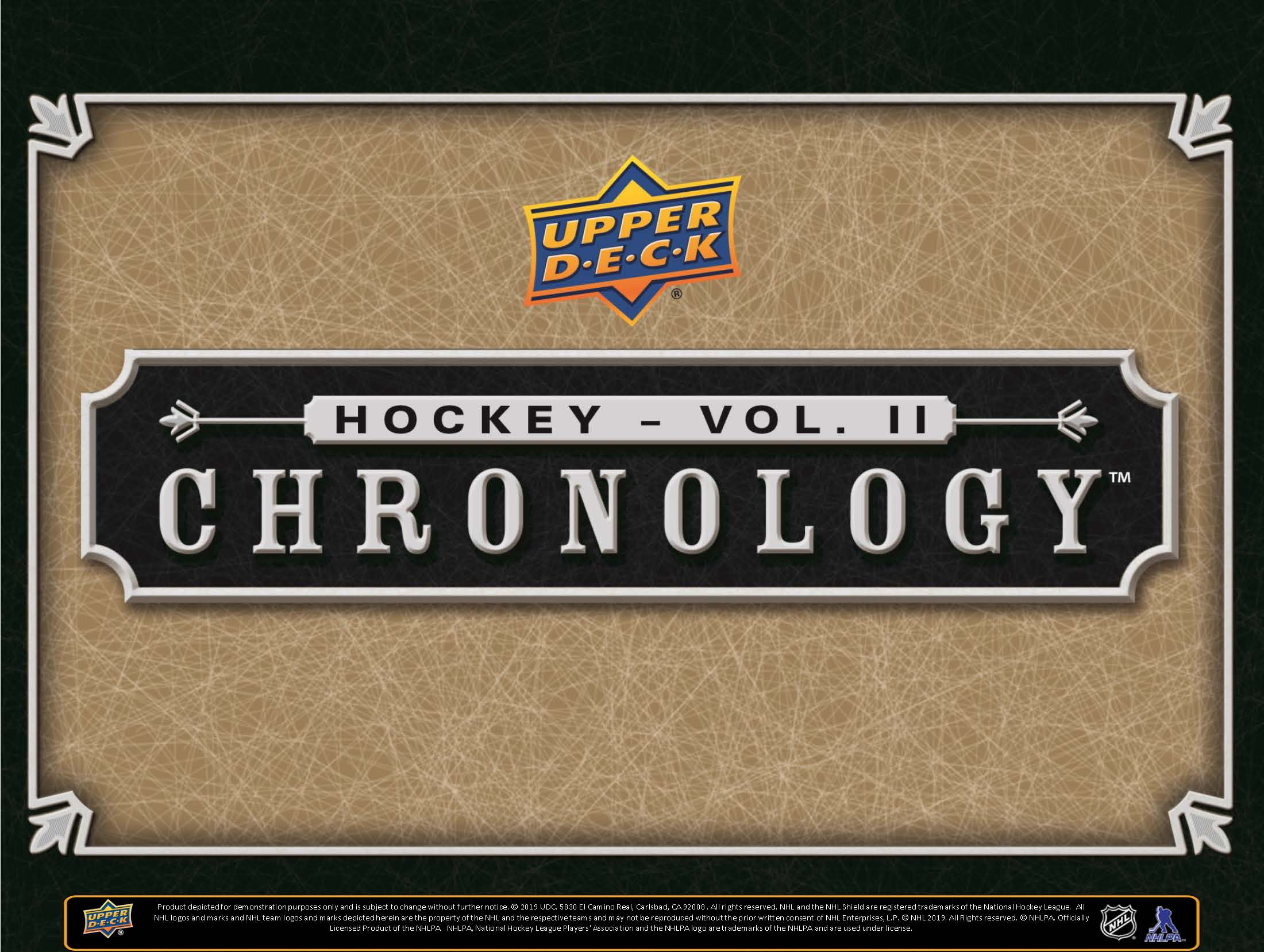 2019-20 Upper Deck Chronology Hockey Vol 2 Checklist