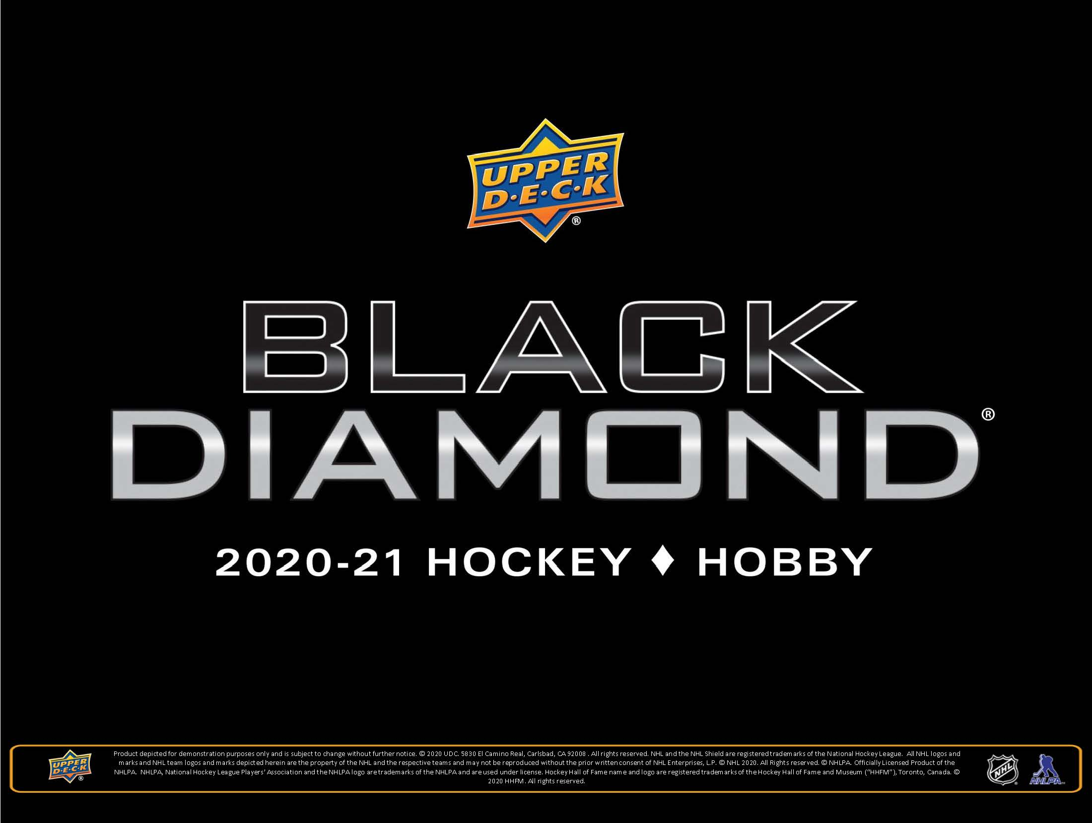 2020-21 Upper Deck Black Diamond Hockey Checklist